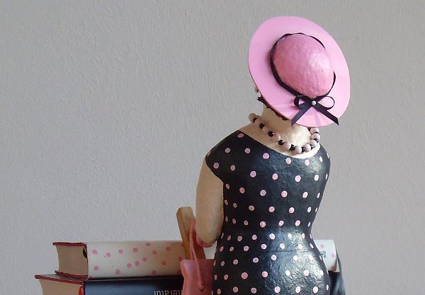 Clothilde 2012 Pappmachéfigur