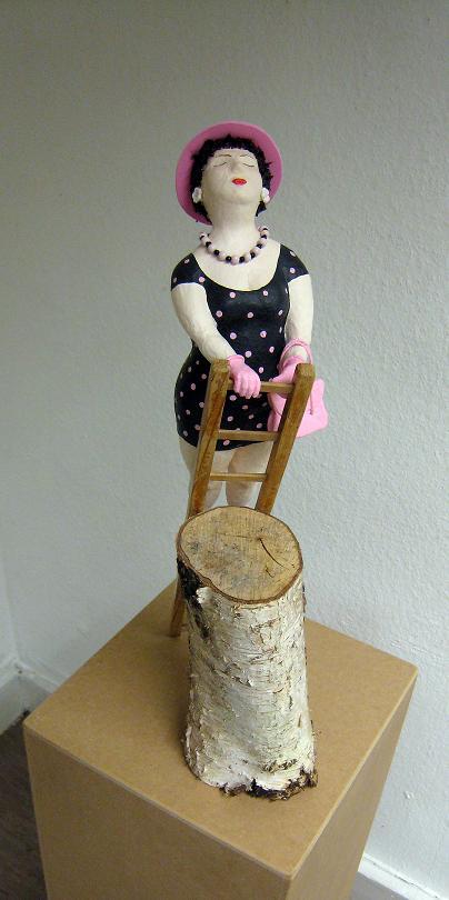 Clothilde 2011 Pappmachéfigur